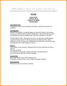 resume for volunteer work sle resume volunteer work resume volunteer experience sle