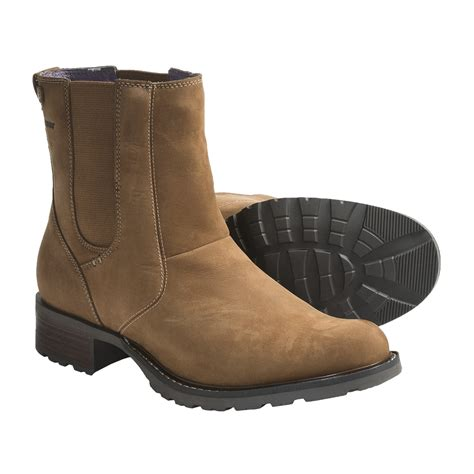 sebago saranac ankle boots waterproof leather for