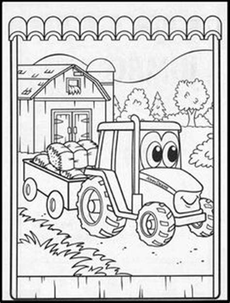 johnny tractor coloring pages birthday cake ideas