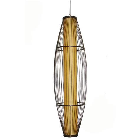 Bamboo Pendant Lighting Antique Fabric And Bamboo Pendant Lighting 7539 Browse Project Lighting And Modern Lighting