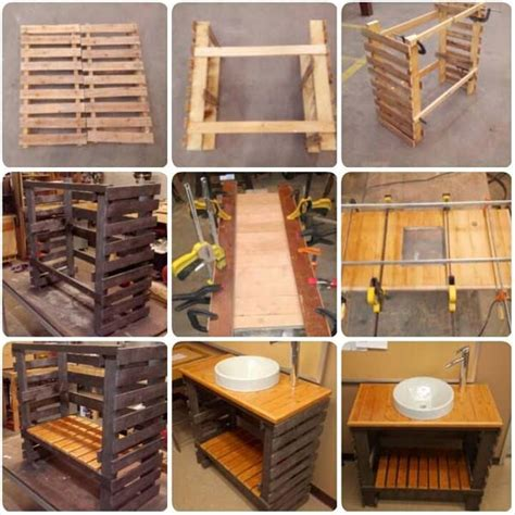 easy  cheap pallet storage projects