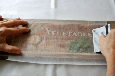 wax paper transfer tutorial how to print pictures on wood diy craft projects