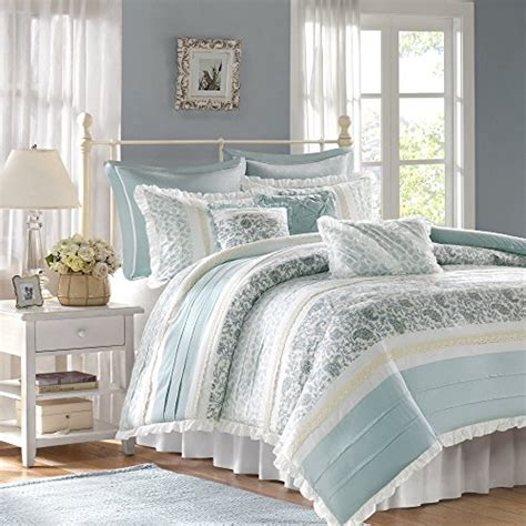 light blue and white comforter set light blue and white comforters and bedding sets