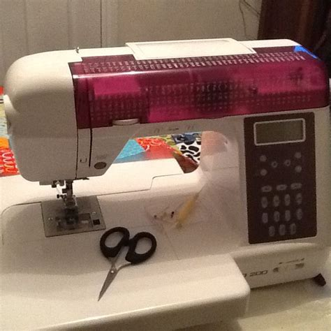 Sewing Machine Patchwork - my new sewing machine sewing machines