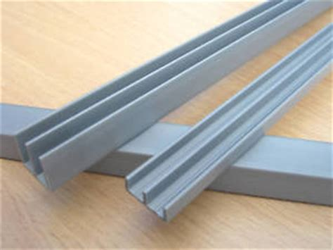 glass door runners 3ft 4mm silver vivarium pvc glass runners track silver ebay