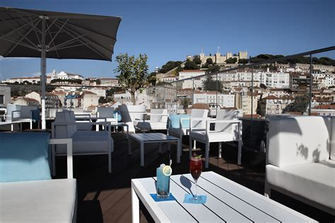 Roof Top Bars by Bars Rooftop Bar Lounge Lisbon Hotel Hotel Mundial In Lisbon Center