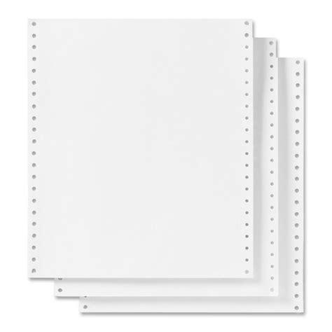 printable dot matrix paper skilcraft continuous paper for dot matrix print 9 50