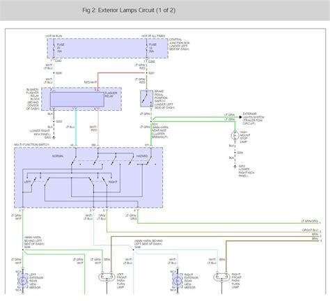 100 wiring diagram for parking lights vintagebus
