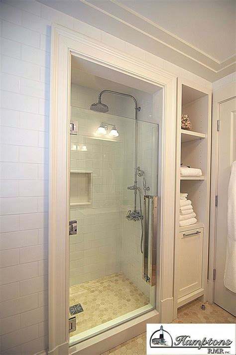 bathroom closet design option to add smaller stall and move closet beside it