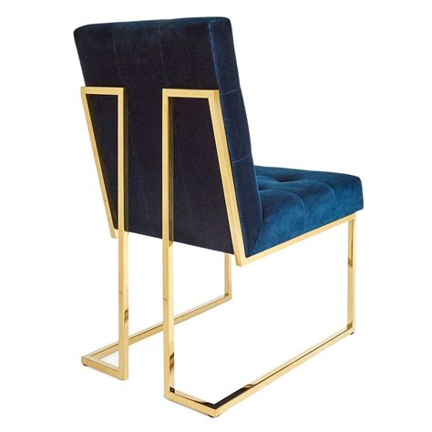 Navy Velvet Dining Chairs Navy Velvet Dining Chair Dining Chairs Navy And Jonathan Adler