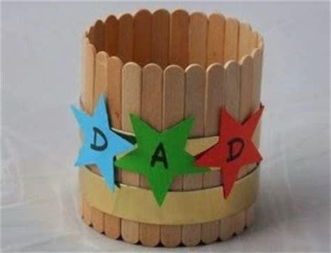 Tempat Pensil Bulat Bunga kreasi kotak pensil bulat dari stik es krim aneka kreasi