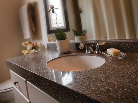 bathroom granite countertop costs hgtv engineered stone bathroom countertops hgtv