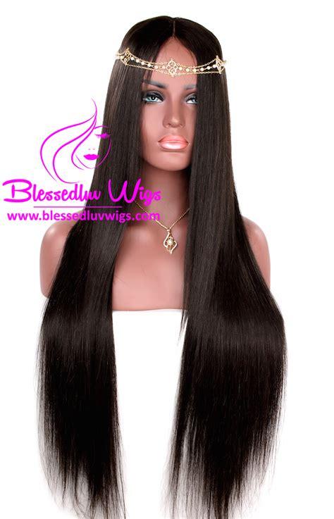 Handmade Wigs - peruvian lace closure handmade wig 30 inches