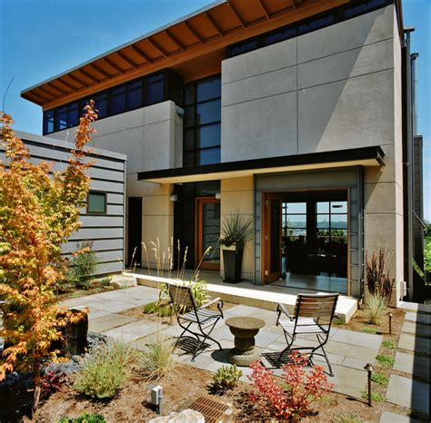 houzz home city view residence contemporary exterior seattle