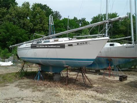 swing keel sailboat 1975 o day 25 swing keel