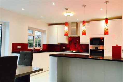 kitchen glass backsplash with digital printing made of made to measure glass splashbacks coloured glass glass