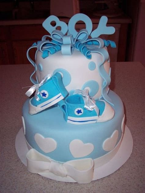 25 best ideas about boy baby shower cakes on pinterest