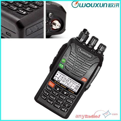 Wouxun Walkie Talkie Two Way Radio Vhf Uhf 999ch Large Display Kg Uv8d wouxun kg uv6d dual band range ip55 walkie talkie