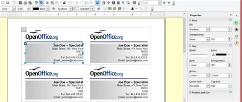 libreoffice greeting card templates frugal guidance 2 creating your own business cards in