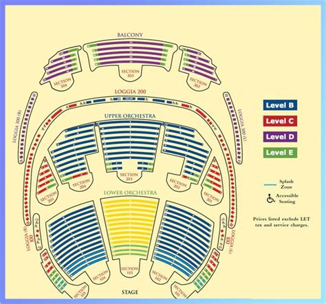 cirque du soleil o seating chart with seat numbers interactive seating chart bellagio
