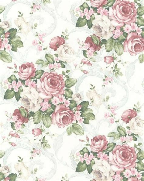 Vintage Flowers Pattern vintage flower pattern background pretty paper