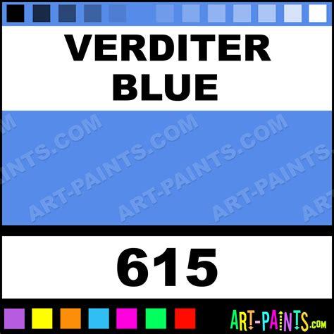 verditer blue verditer blue premium watercolor paints 615 verditer