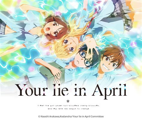 anime your lie in april your lie in april anime review the online anime store
