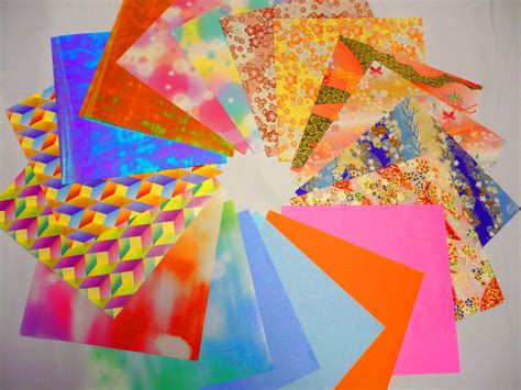 Types Of Origami Paper - what of origami paper should i use useful origami