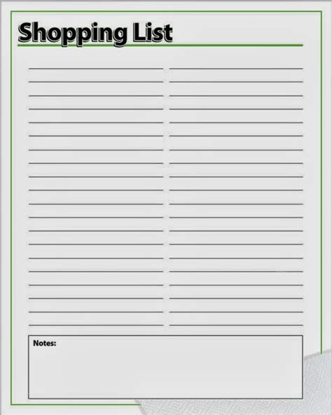 cute printable shopping list and here is a shopping list i make my list as i write