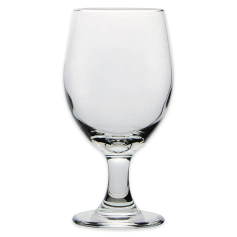 barware glasses libbey 3010 14 oz perception one piece banquet goblet