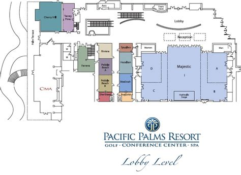 event space layout banquet halls in los angeles pacific palms resort
