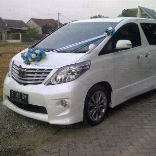 Wedding Car Alphard by Wedding Alphard Bandung Sewa Wedding Car Bandung