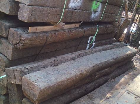 Reclaimed Railway Sleeper by Rustc Reclaimed Creosoted Sleepers Ar1038