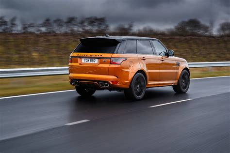 orange range rover svr 2018 range rover sport svr review neoadviser com