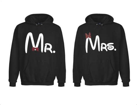 Matching Jackets For Couples Mr And Mrs Disney Matching Couples Hoodies Two For 49