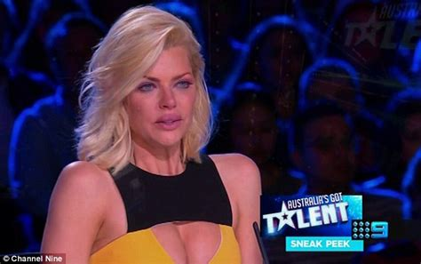 What Has A Monk Got To Do With Breast Enhancement by Monk Breaks In Tears In Australia S Got Talent