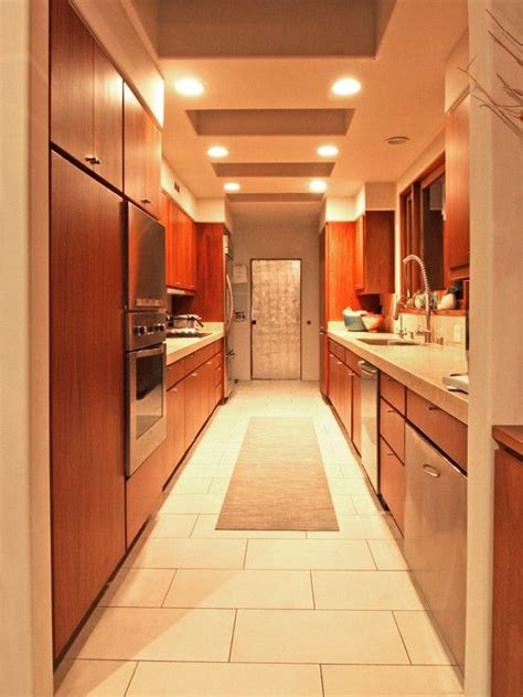 corridor kitchen design home galley kitchen design and galley kitchens on pinterest
