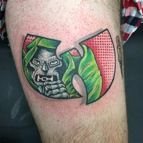 mf doom tattoo top 40 best wu tang designs tattooblend