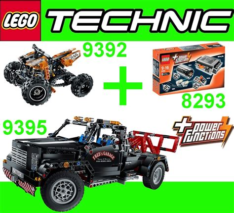 Brenda Set 3in1 lego technic 3in1 pack 9395 up tow truck 8293 power