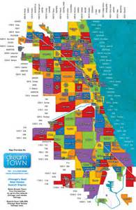 Neighborhoods In Map Chicago Neighborhoods Map Chicago Il Mappery