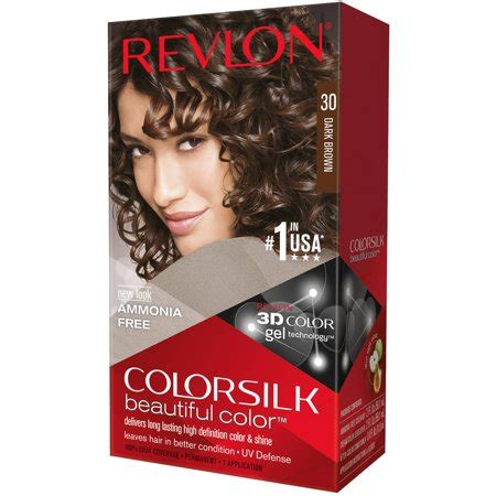 revlon hair dye colors revlon colorsilk beautiful color permanent hair color 30