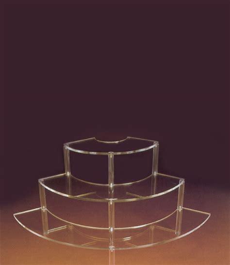 Acrylic Per Meter espositore gradini plexiglass er m 630 espositori a