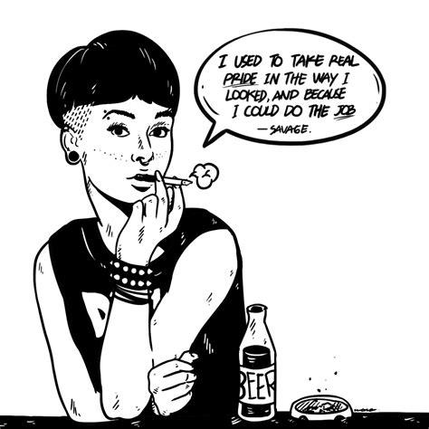 gambar animasi punk kumpulan gambar bagus