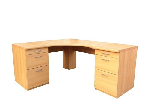 large corner table large office corner desk with drawers