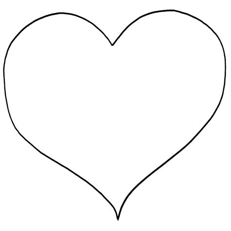 coloring page heart shape free printable heart coloring pages for kids