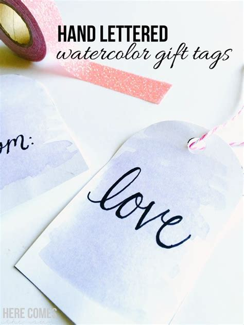 easy watercolor gift tags tutorial perfect for a beginner easy watercolor gift tags tutorial perfect for a beginner