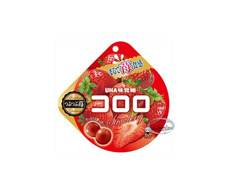 e bureau uha uha cororo fruit juice gummy gummi strawberry flavor