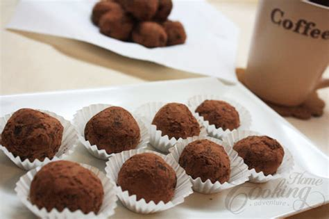 chocolate truffles home cooking adventure