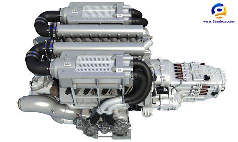 Bugatti Veyron V16 Engine Bugatti Veyron W16 Engine 3d Model
