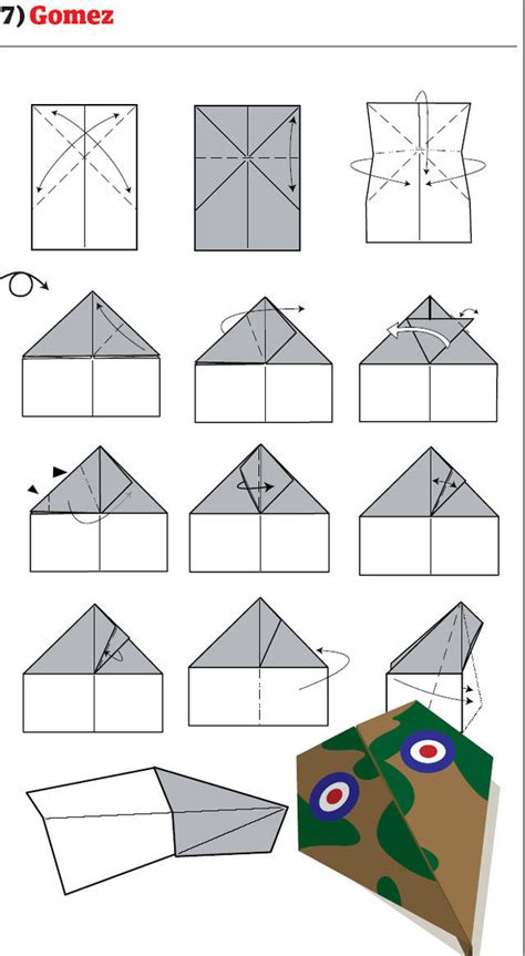 How To Make A Paper Plane Model - paper airplane models to make yourself 12 pics